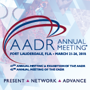 2018 AADR/CADR Annual Meeting & Exhibition App Icon