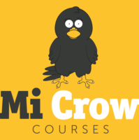 MiCrow Logo Orange L Background