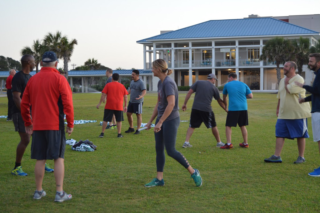 Rising Leaders workout