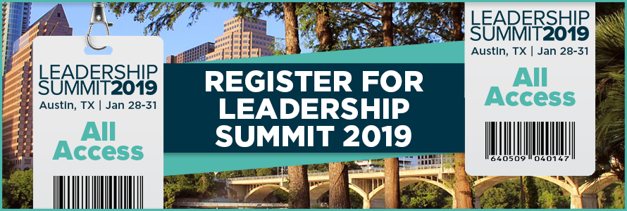 Register for Leadership Summit 2019
